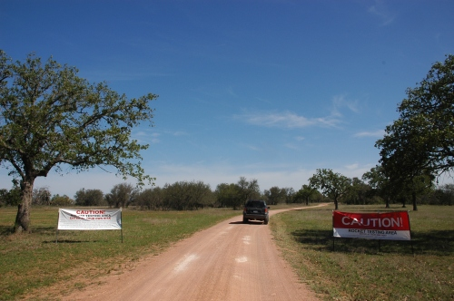 ranch entrance