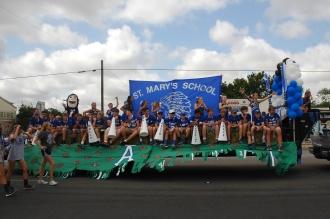 The Apaches: St. Mary's Highschool Football Team