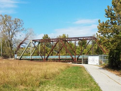 Old Chain of Rocks Bridge,