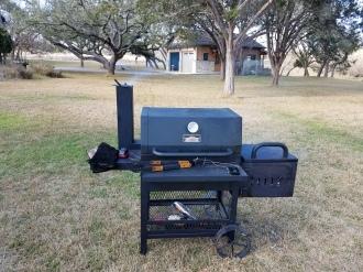 grill/smoker