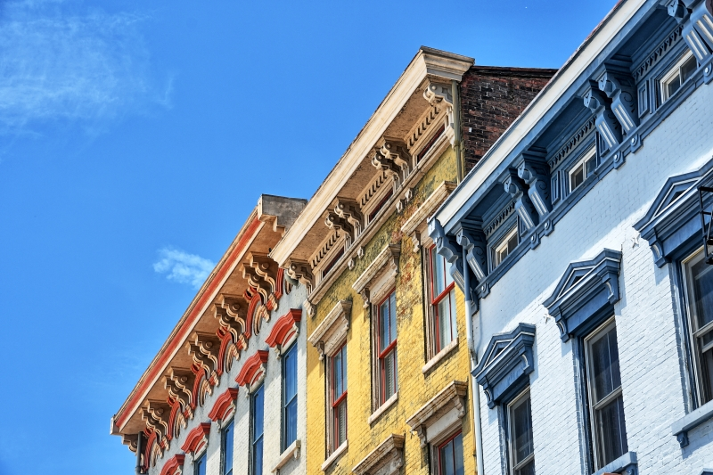 Italianate Facades: Simple and Yet Beautiful