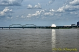 The Pyramid from across the Mississippi