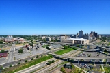 Memphis from Above: Overpasses and Downtown