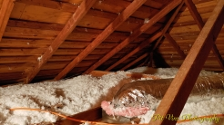 Attic Views: Ducts and Insulation