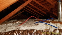 Attic Views: Ducts, Wiring, Plumbing, and Insulation