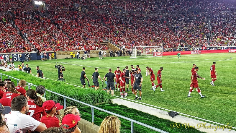 scenes from the match