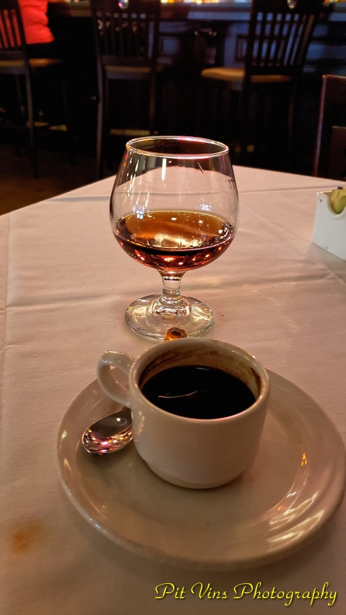 espresso and brandy