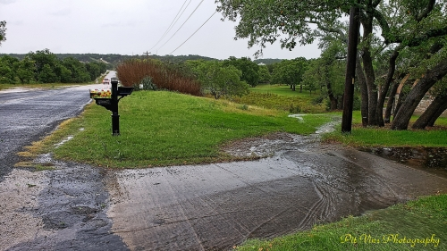 water entering our property