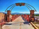 bicyle path/bridge along I-40