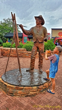 The Statue of the Cowboy Painter