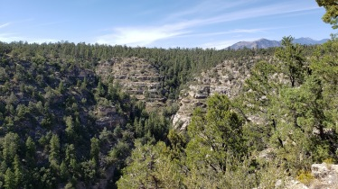 at Walnut Creek Canyon National Monument