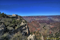 View Towards the Grand Canyon from Bright Angel