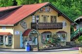 """Alpine-""""Bavarian"""" Architekture in Helen/GA"""