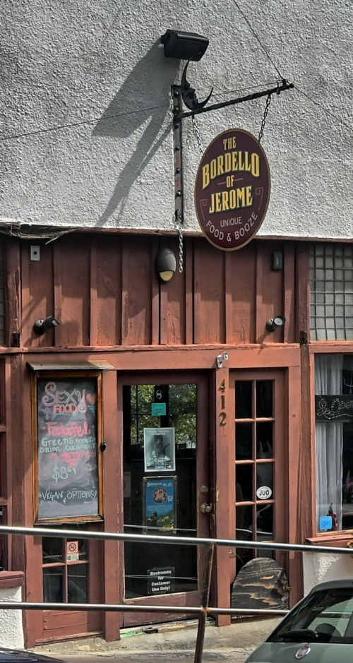 Jerome/AZ - The Bordello Rstaurant