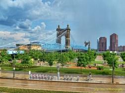 Roebling Suspension Bridge, Cincinnati
