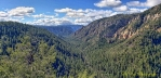 Oak Creek Canyon As Seen From the Overlook