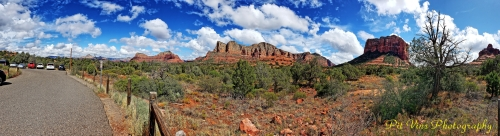 Panorama from Bell Rock Loop Trailhead